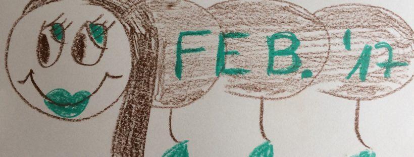 Beitragsbild Kinderkalender für Februar