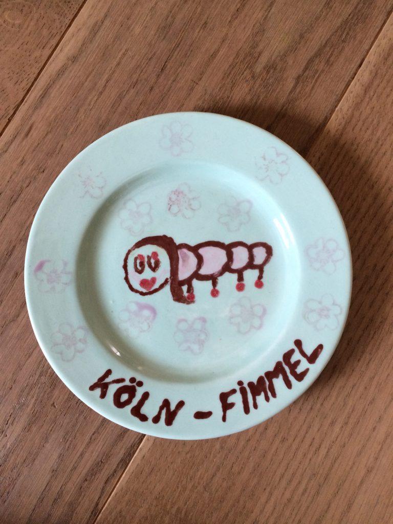 Köln-Fimmel-Teller mit Glanz