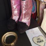 Glitzer und Glamour in der Kleiderei....