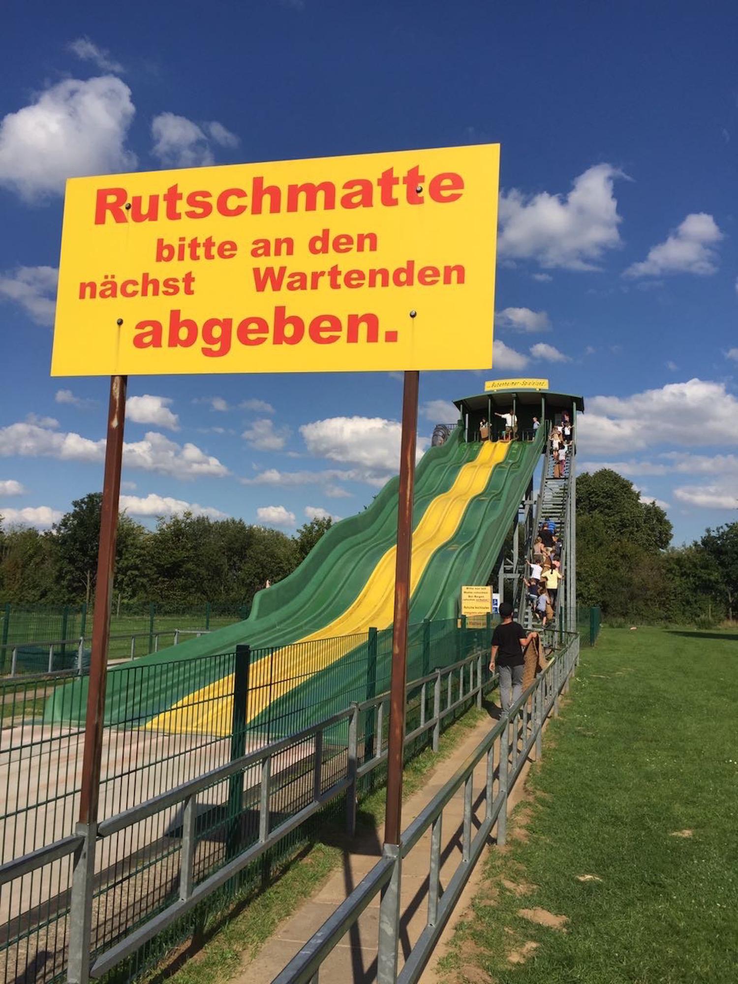 Rutsche im Bubenheimer Spieleland