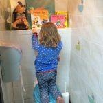 Rockanje kinderfreundliche Toilette