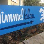 Plakat Himmelblau