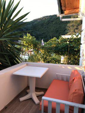 Terrasse im Bungalow Nefeli