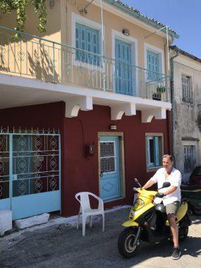 Mit dem Mofa unterwegs auf Korfu