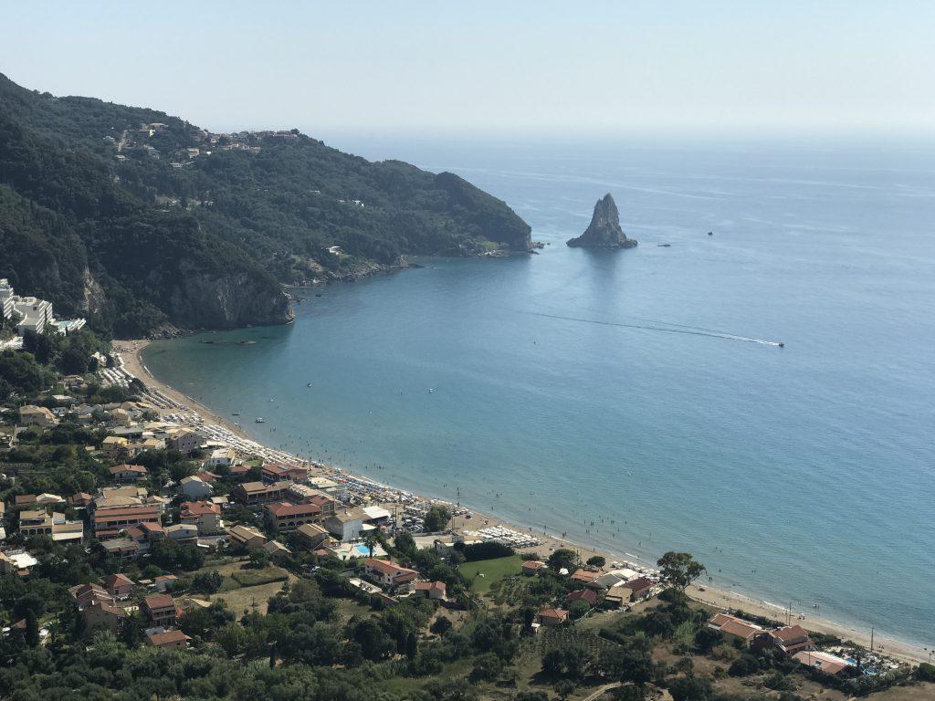 Die Bucht von Agios Gordios