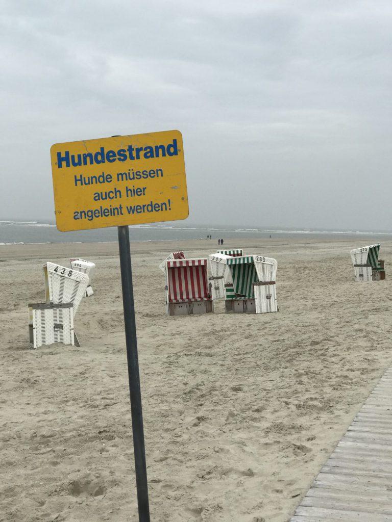 Hundestrand auf Baltrum